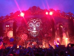 Imagenes de lo que fue la Tomorrowland