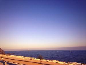 Paisaje de la ruta entre Cádiz y Málaga