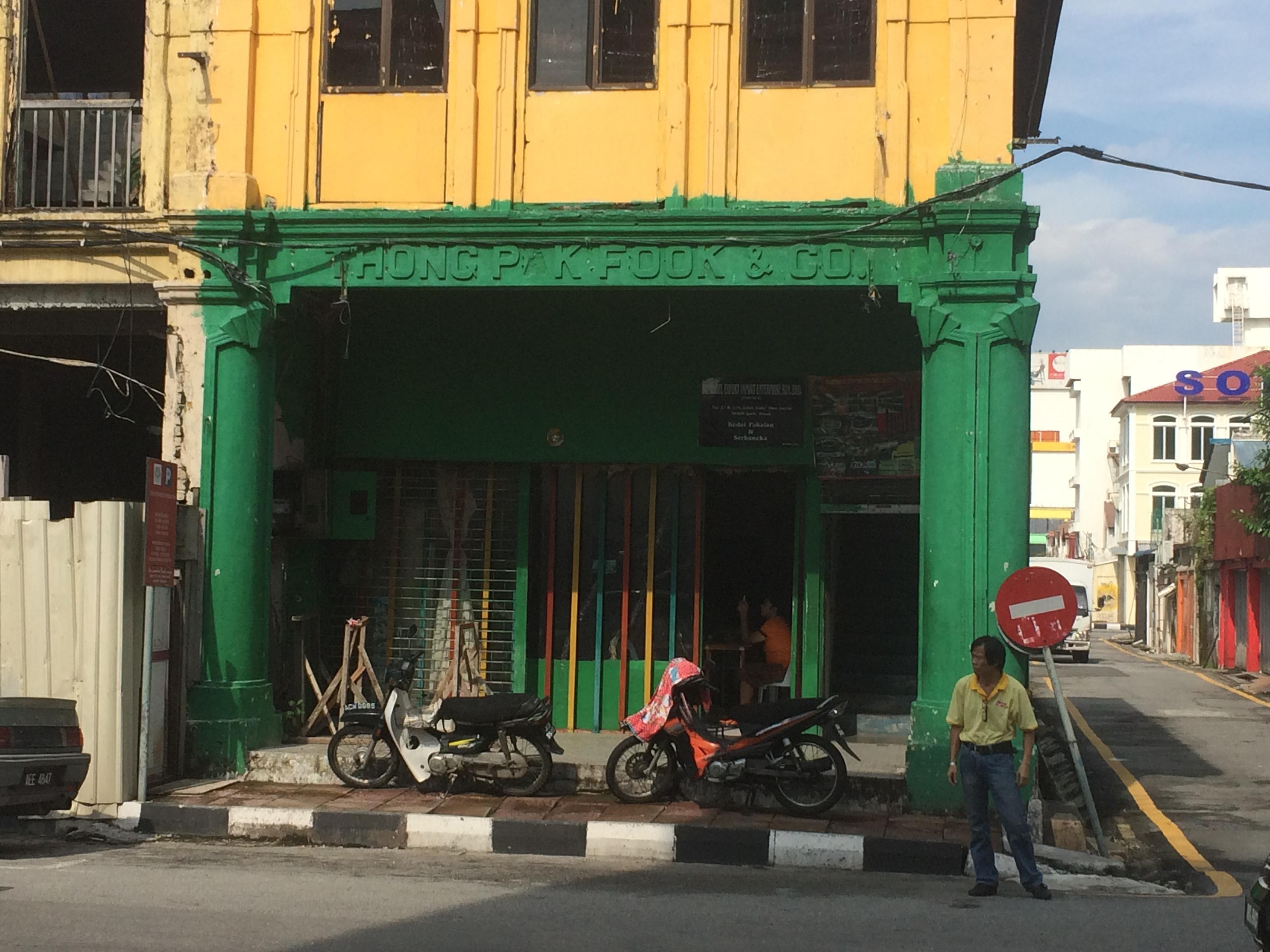 Ipoh y su centro histórico