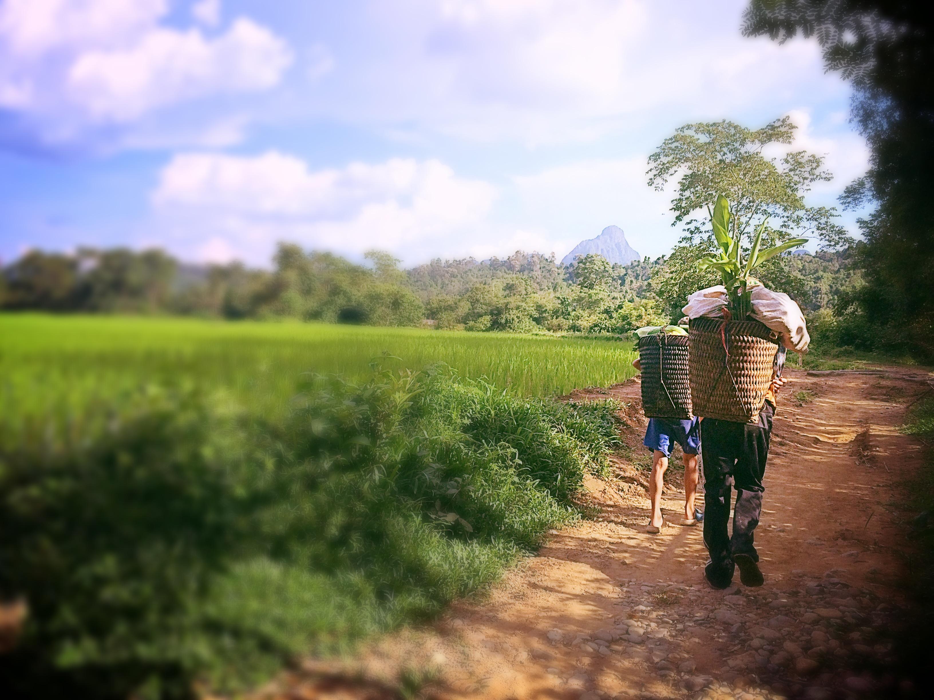 Instan-taneas de Vang Vieng. Laos