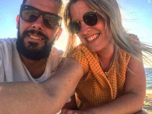 Garabateando por Margs ❤️ .  Margaret River,  . . #unavueltaporeluniverso #garabato #couple #travel #sea #margaretriver #margs #wa #southwest #westernaustralia #australia #instagram #instatravel #traveling #travelingram #nomad #nomadlife #backpacker #backpackerlife #mochilero #vidanomade