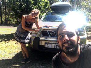 Se nos fue Miguel    . Nos acompaño desde que llegamos a #Broome y nos llevo por toda la West Coast. Australia va llegando a su fin de a poco  .  Margaret River,  . . #lacomuviajera #unavueltaporeluniverso #nissan #xtrail #4wd #margaretriver #freelance #southwest #wa #westernaustralia #australia #instagram #instatravel #travel #traveler #traveling #travelingram #livingthedream #nomad #nomadlife #backpacker #backpackerlife #mochilero #vidanomade