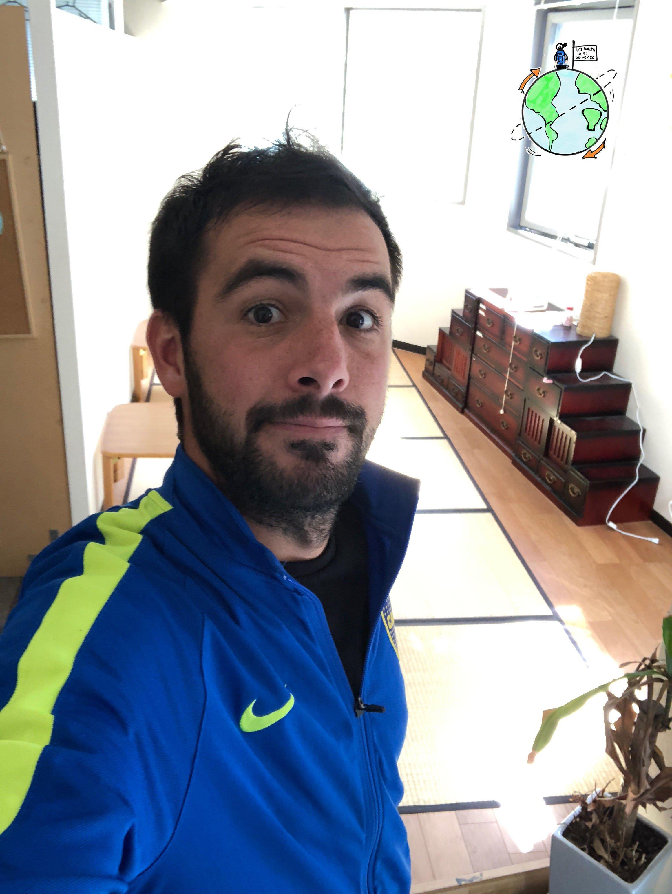 En Fukuoka, Japón, vi a Boca campeón en un hostel. Nadie entendía porque gritaba tanto