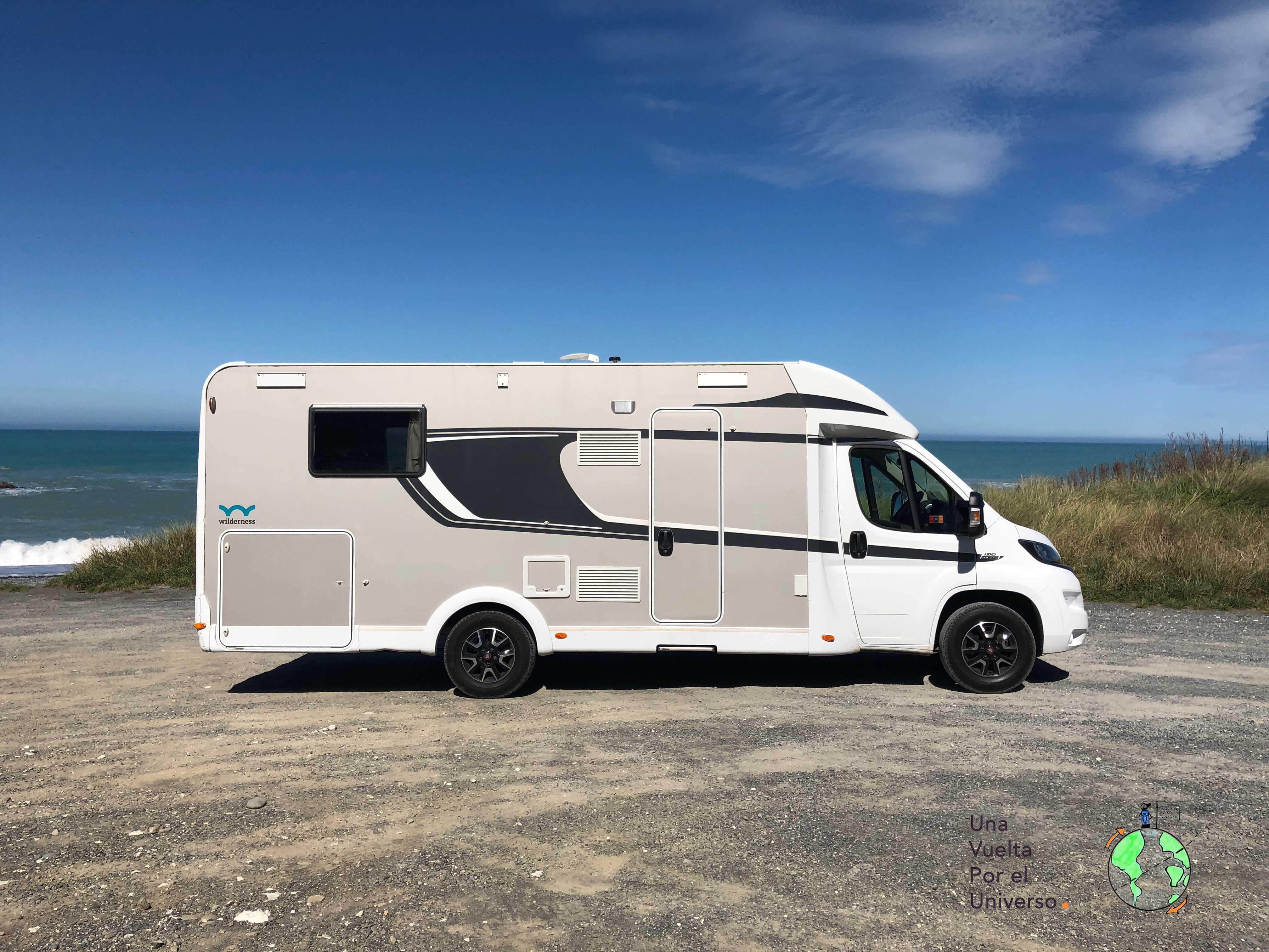 En NZ nos dieron esta motorhome para llevarla de Auckland a Christchurch. Fue una experiencia increíble!