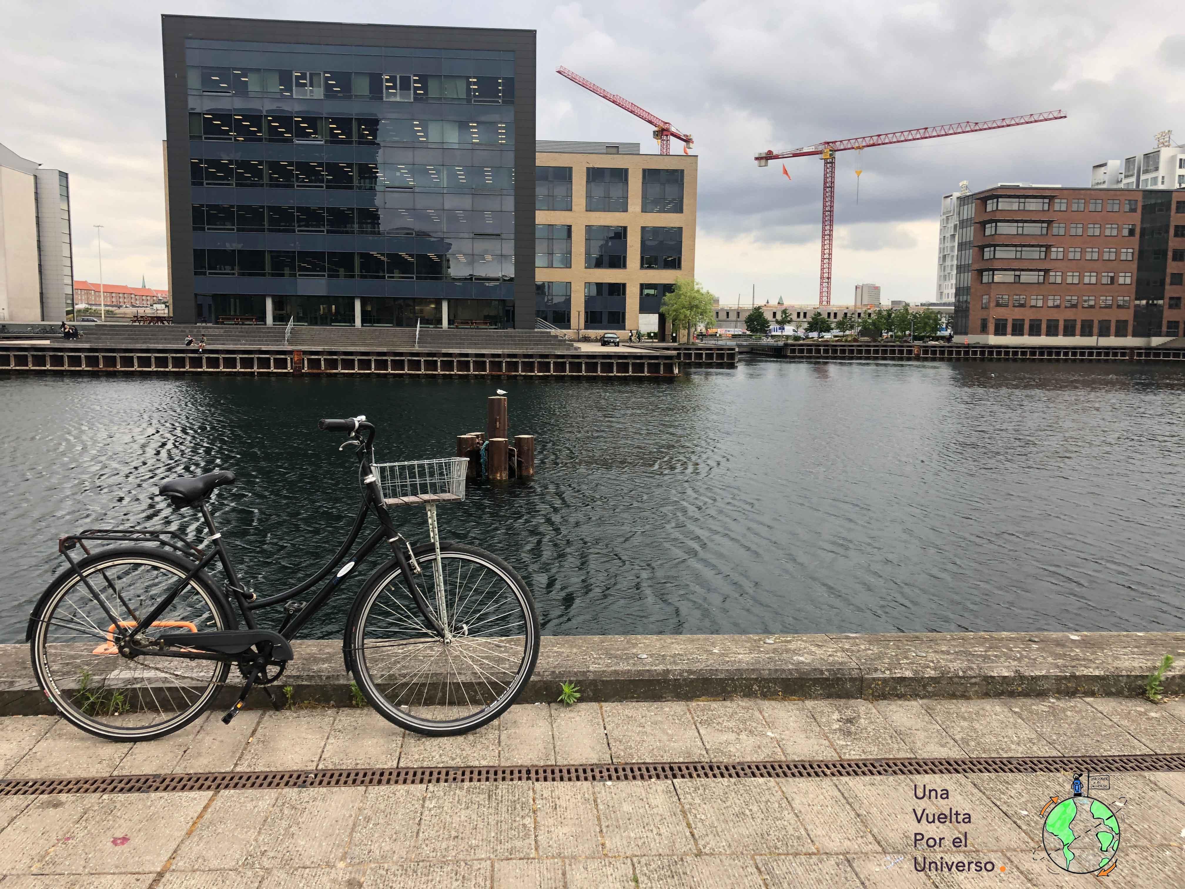 Mi bici en Copenhague