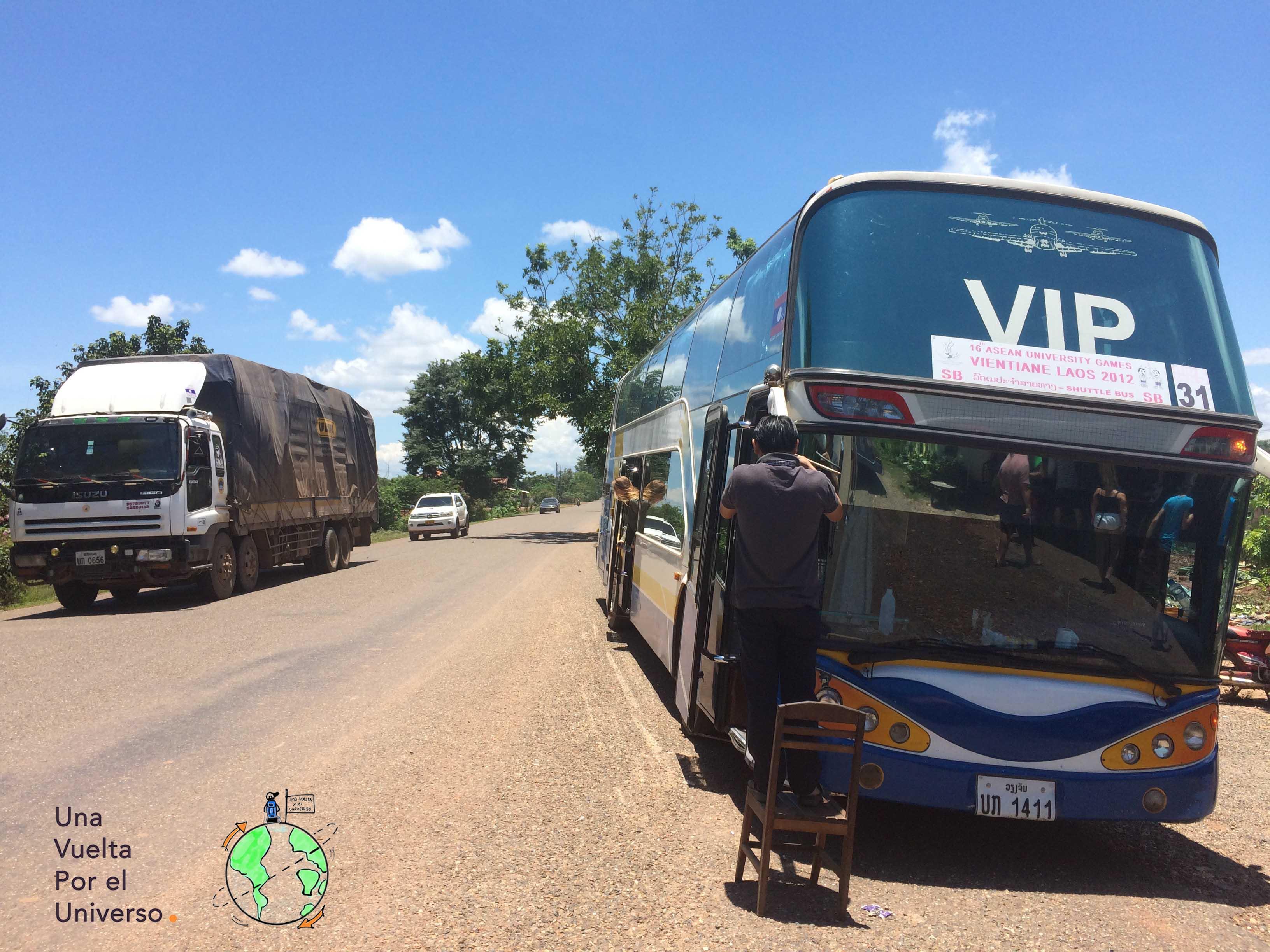 Los buses VIP estan por todo el Sudeste Asiático