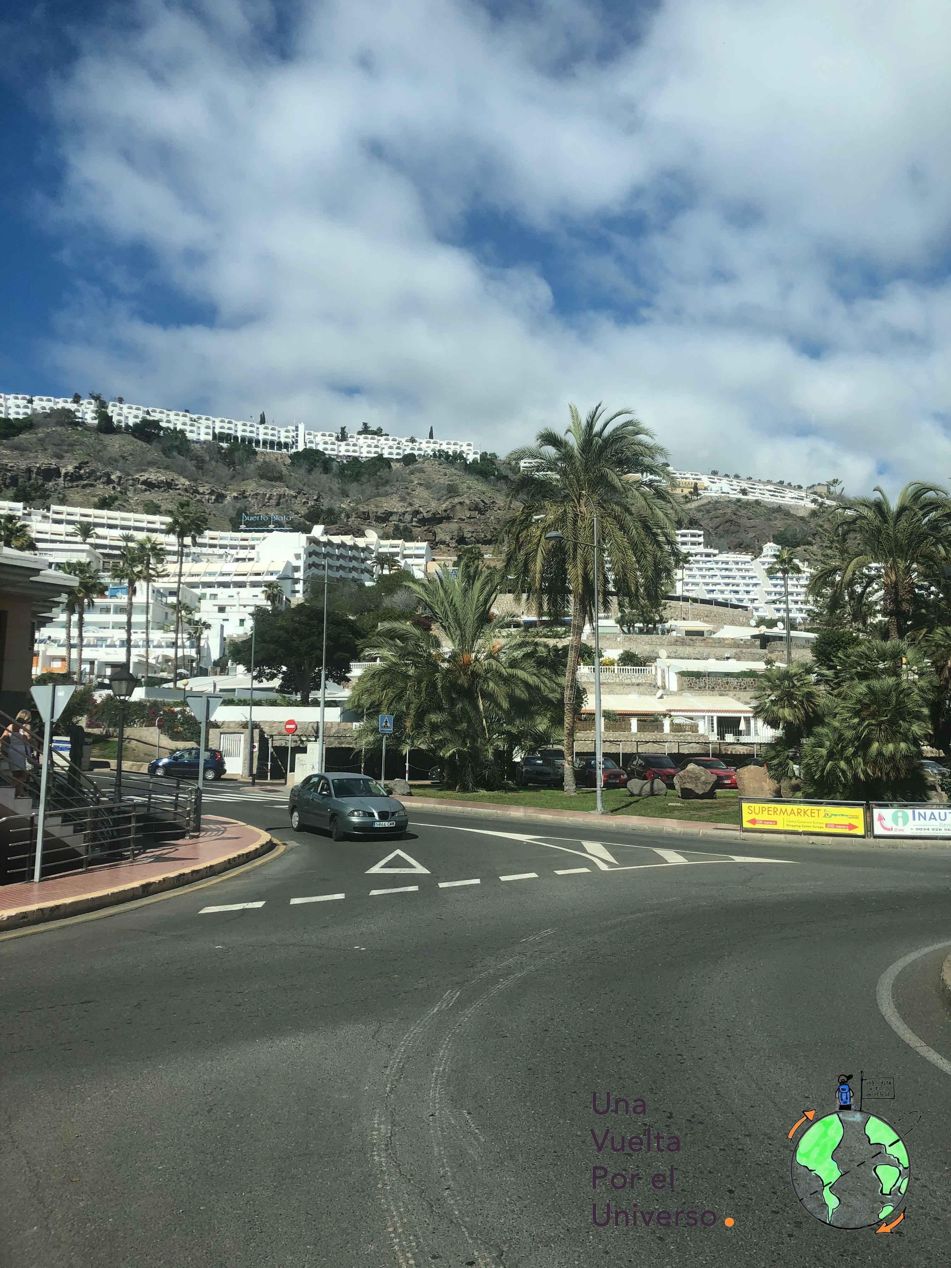 Asi luce el sur de Gran Canaria