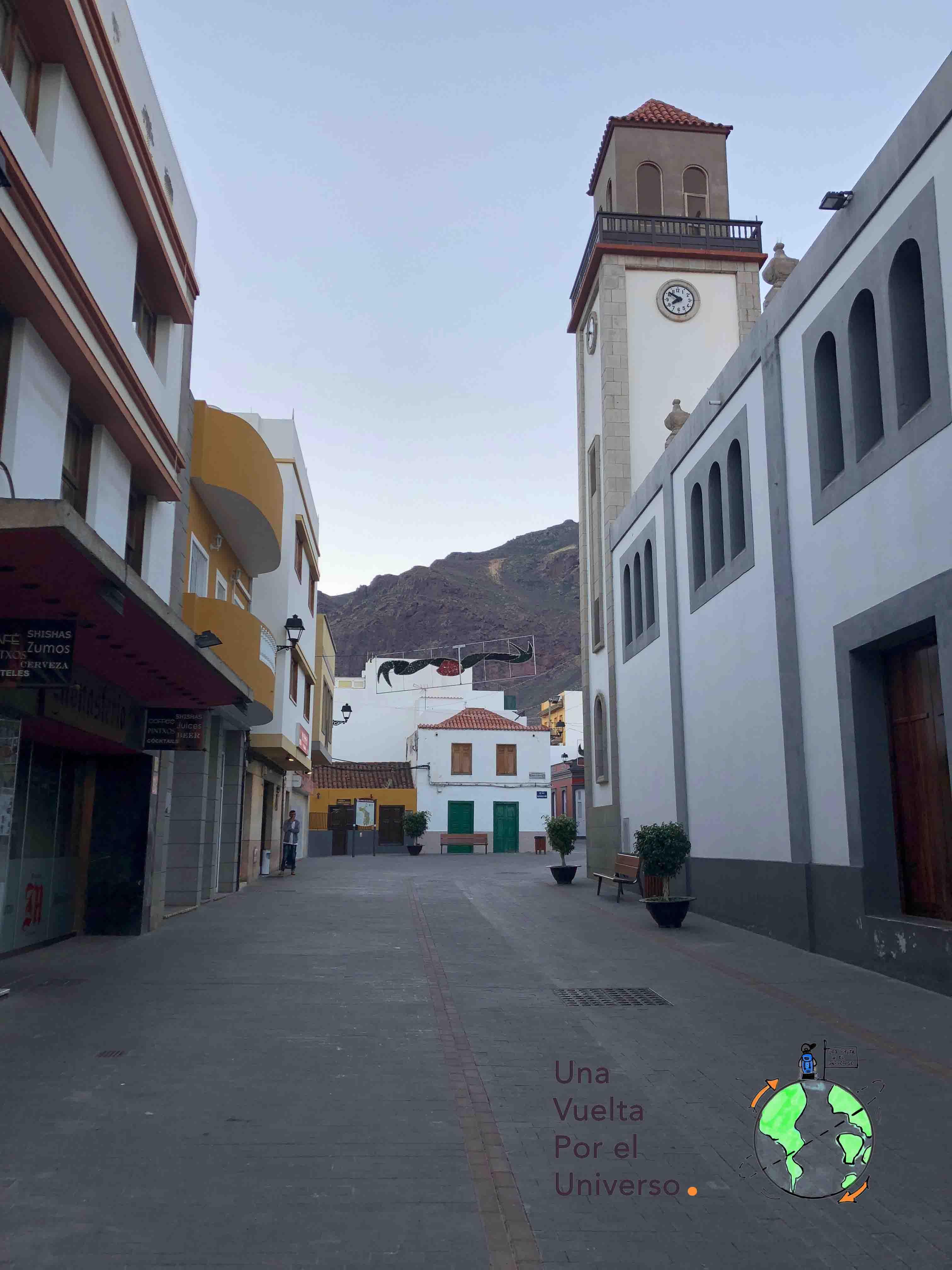 La Aldea, el pueblo donde tomamos el café con Julio