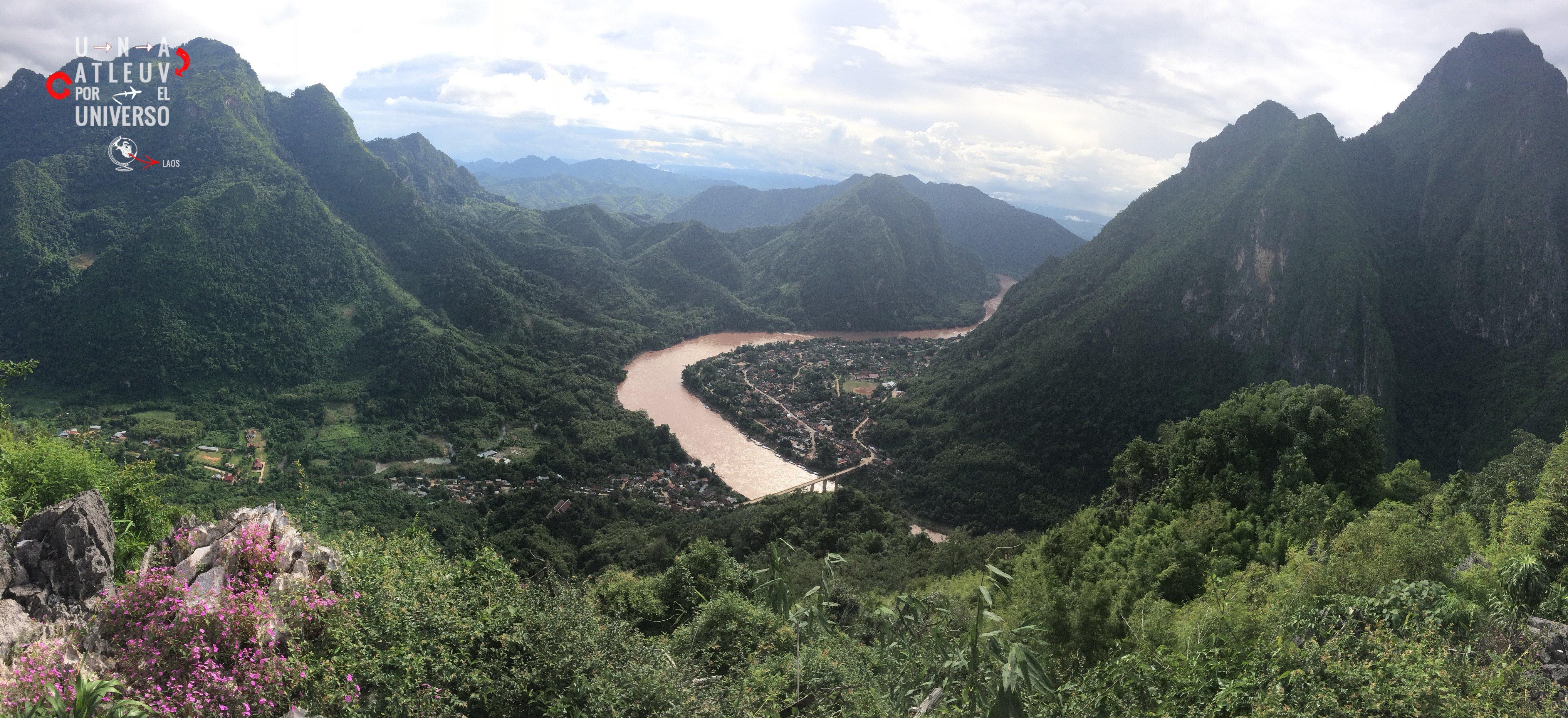 Nong Khiaw tiene paisajes así