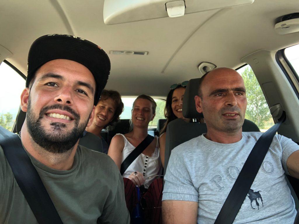 Entrando a dedo a Prizren, Kosovo